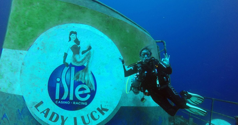 Come Dive The World Famous Lady Luck Wreck
