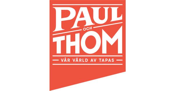 PAUL och THOM logo