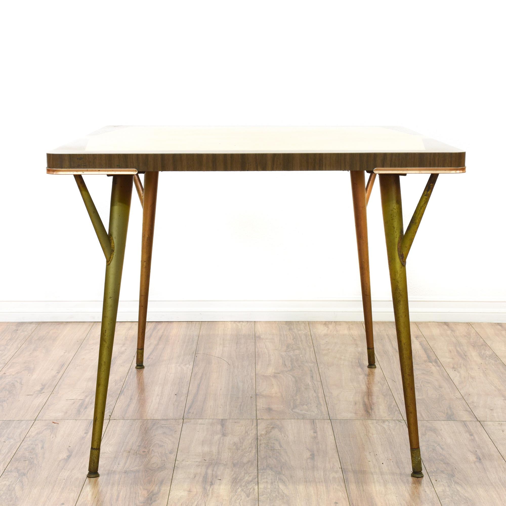 Retro Mid Century Modern Kitchen Table Loveseat Vintage Furniture San Diego Los Angeles