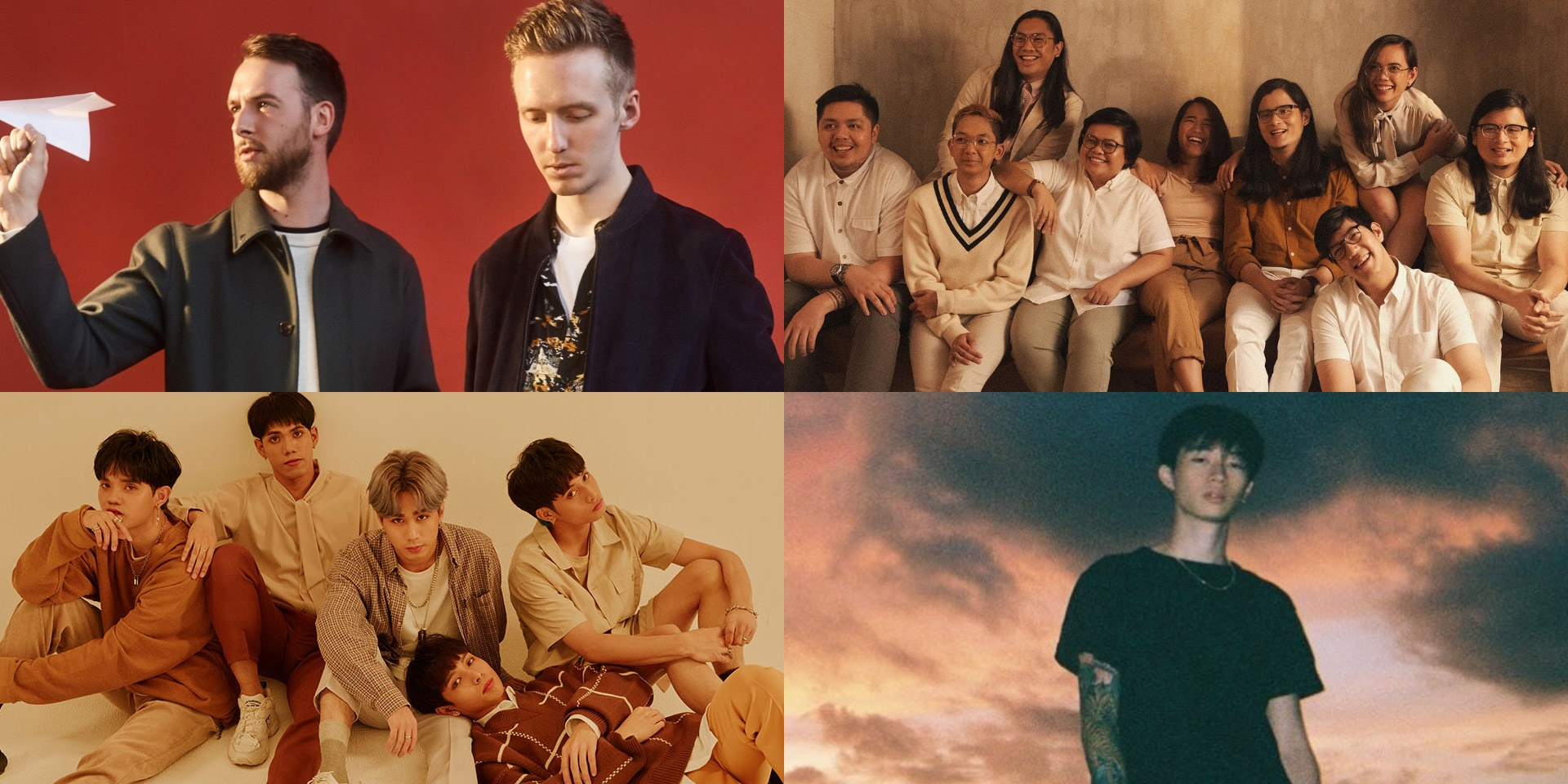 Honne, Powfu, Keshi, SB19, KZ Tandingan, Ben&Ben, and more to perform at MYX Music Awards 2020
