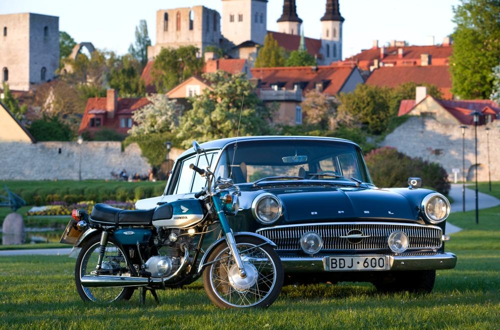 Rullande kulturarv samlat i Visby. Foto: Stig Hammarstedt/MHRF