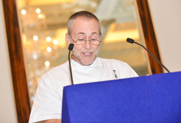 Michel Roux Jnr at the ACE Wine Dinner