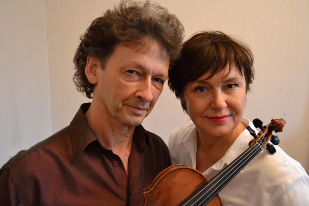 Ewa Carlsson och Bo Lindell ur Teatergruppen Kulturparlamentet.