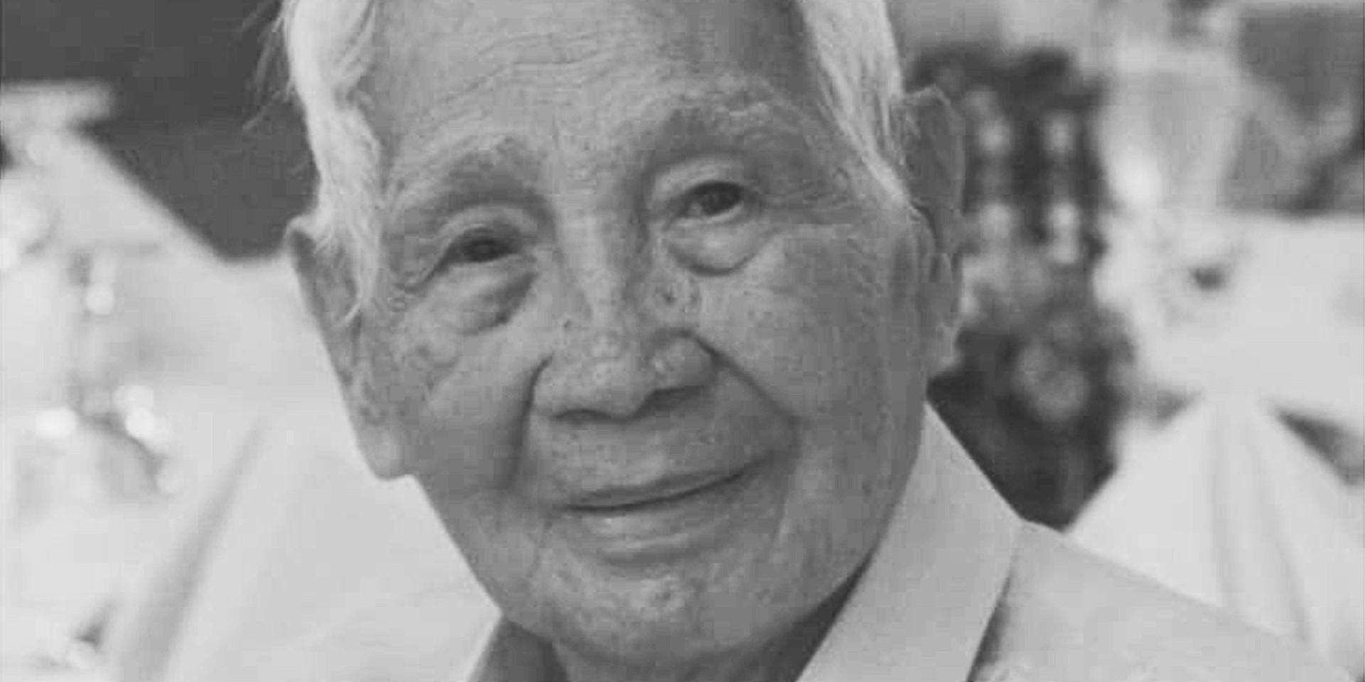 """Lyric founder Severo """"Lolo Berong"""" Panganiban passes away at 94"""
