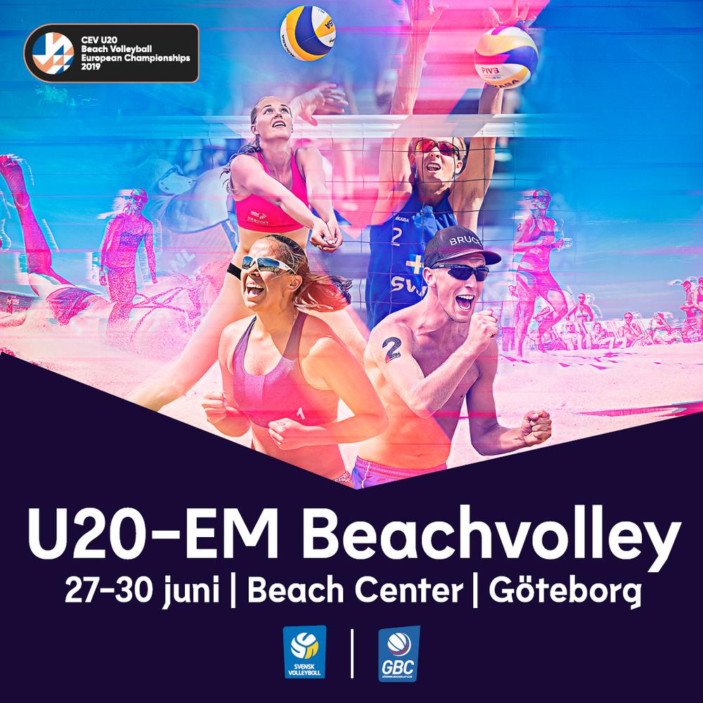 U20-EM Beachvolley