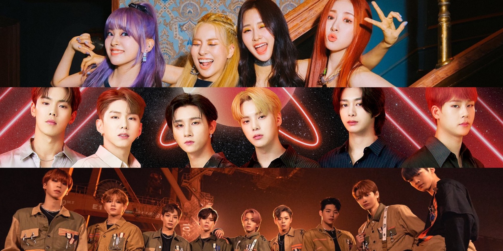 MONSTA X, GHOST9, and LUNARSOLAR to headline MK-1: MOTTLIVE K-Pop Vol. 1 Global Live Concert