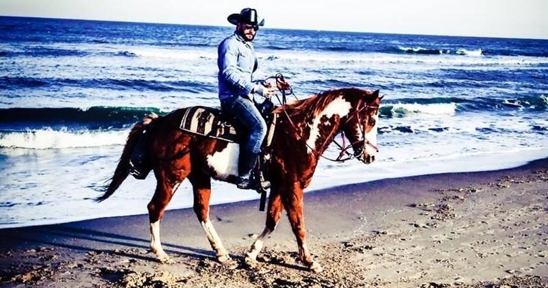 One Hour Guided Beach Horseback Ride At Virginia 26th Street