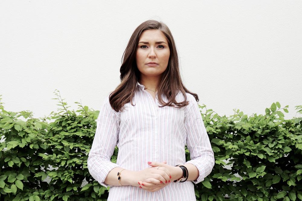 Lina Hultqvist, ordförande Sveriges Elevkårer.
