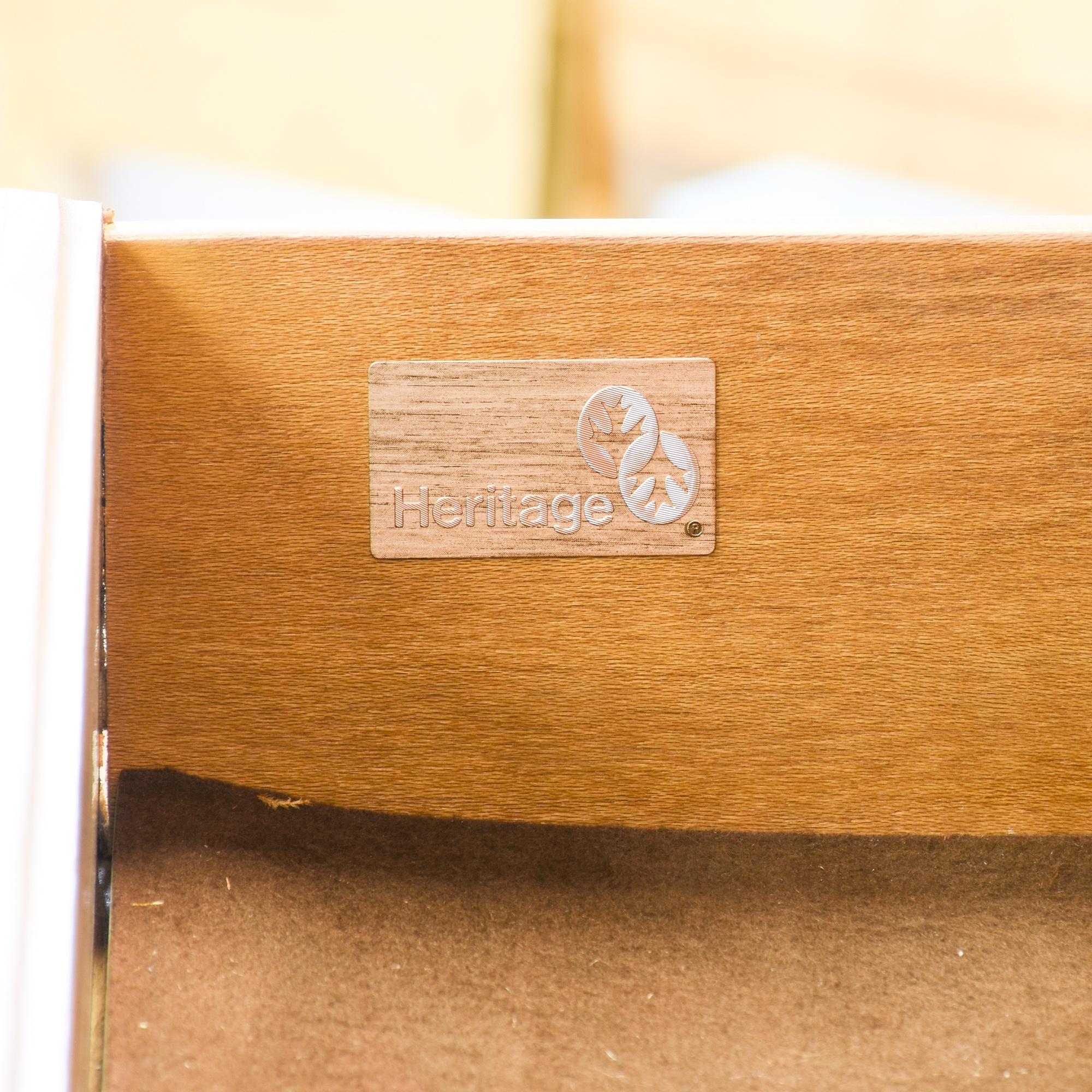 "European Heritage By Wood Mode: ""Drexel Heritage"" Burl Wood Armoire Bar Cabinet"