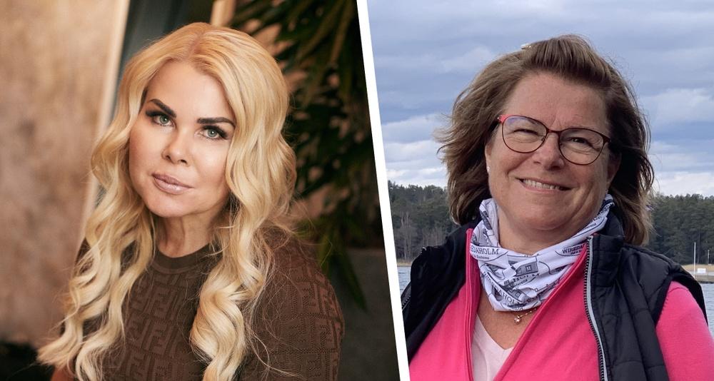 Birgitta Hagenfeldt och Pernilla Nyrensten
