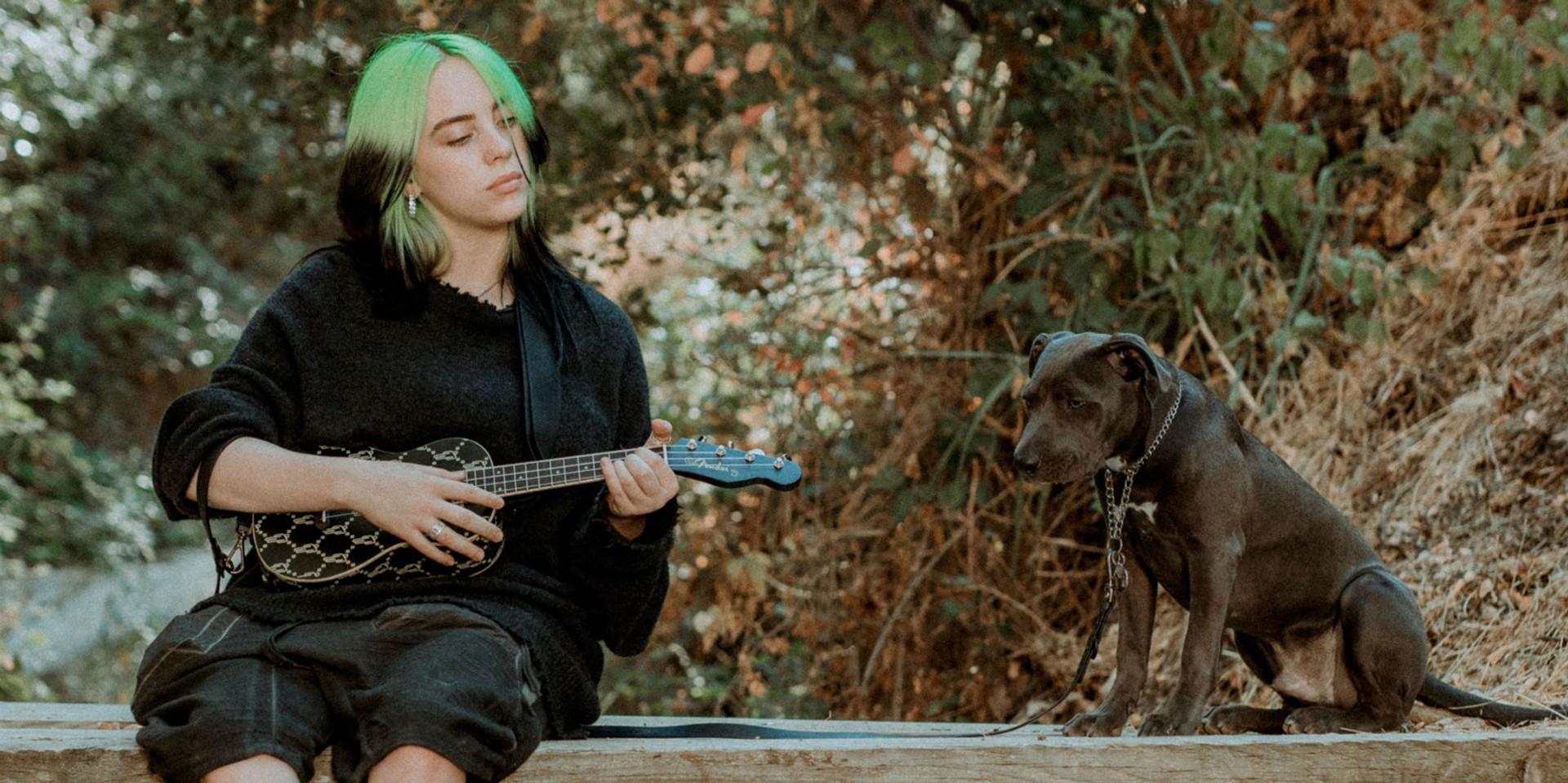 Billie Eilish launches signature ukulele with Fender