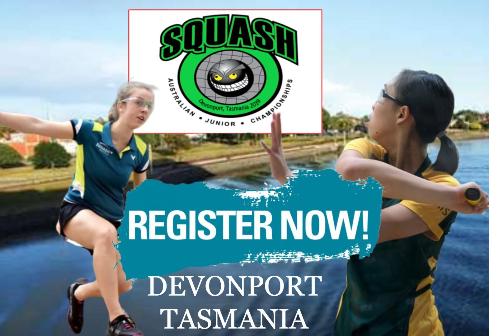 REGISTER TODAY | 2019 Australian Junior Championships - Squash Australia