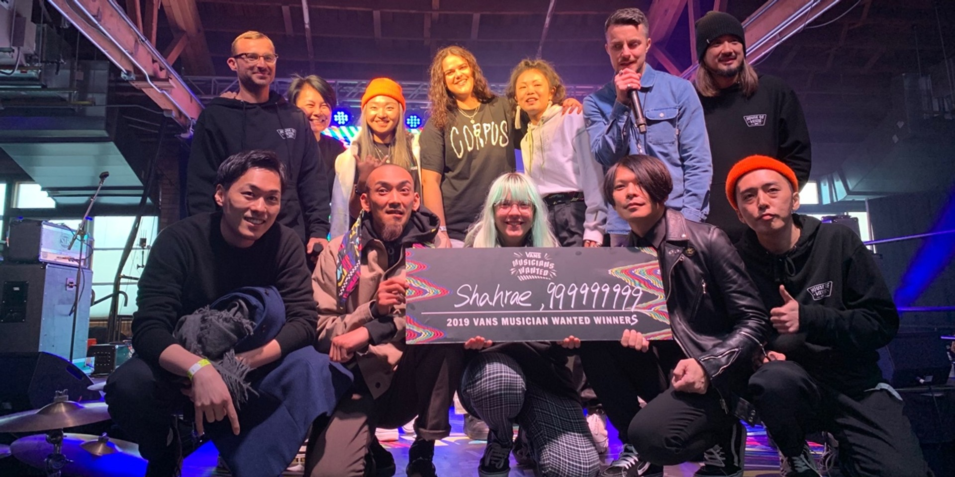 Vans Musicians Wanted crown dual winners Shahrae and 999999999