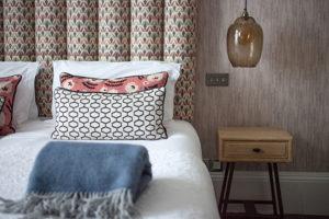 Lord Mowbray bedroom Hampton Manor