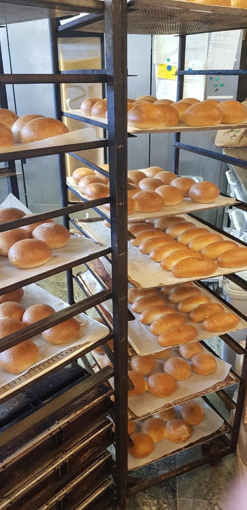 Hamburgerböd och korvbröd på surdeg från Saltå Kvarn