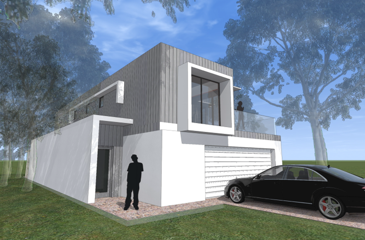 Modern Modular home design by Imagine Kit Homes