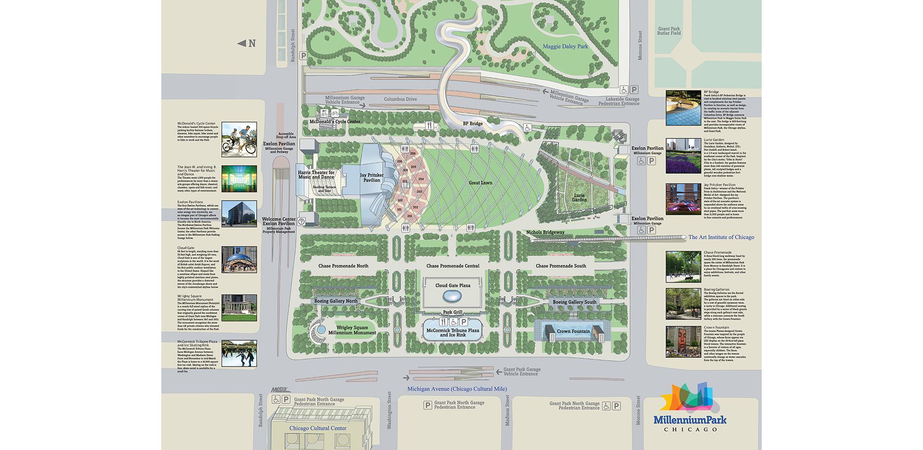 Millennium Park Site Plan