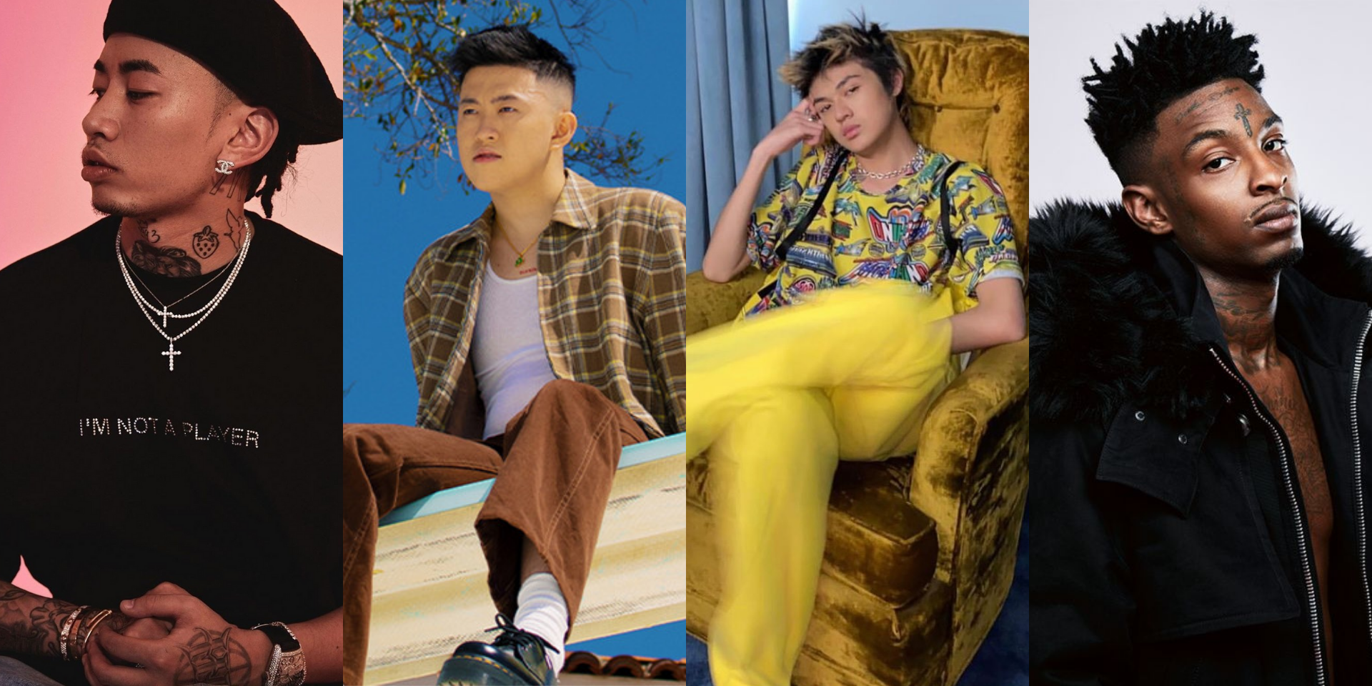 Rich Brian, Warren Hue, Higher Brothers' Masiwei, and 21 Savage join forces for new single 'Lazy Susan' – listen