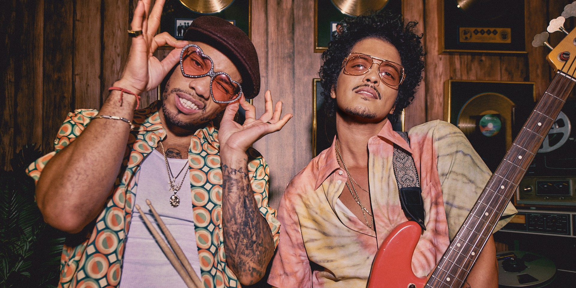 Bruno Mars and Anderson .Paak team up to form 'Silk Sonic', announce collaborative album