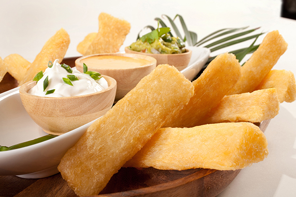 Funnybones yuca fries