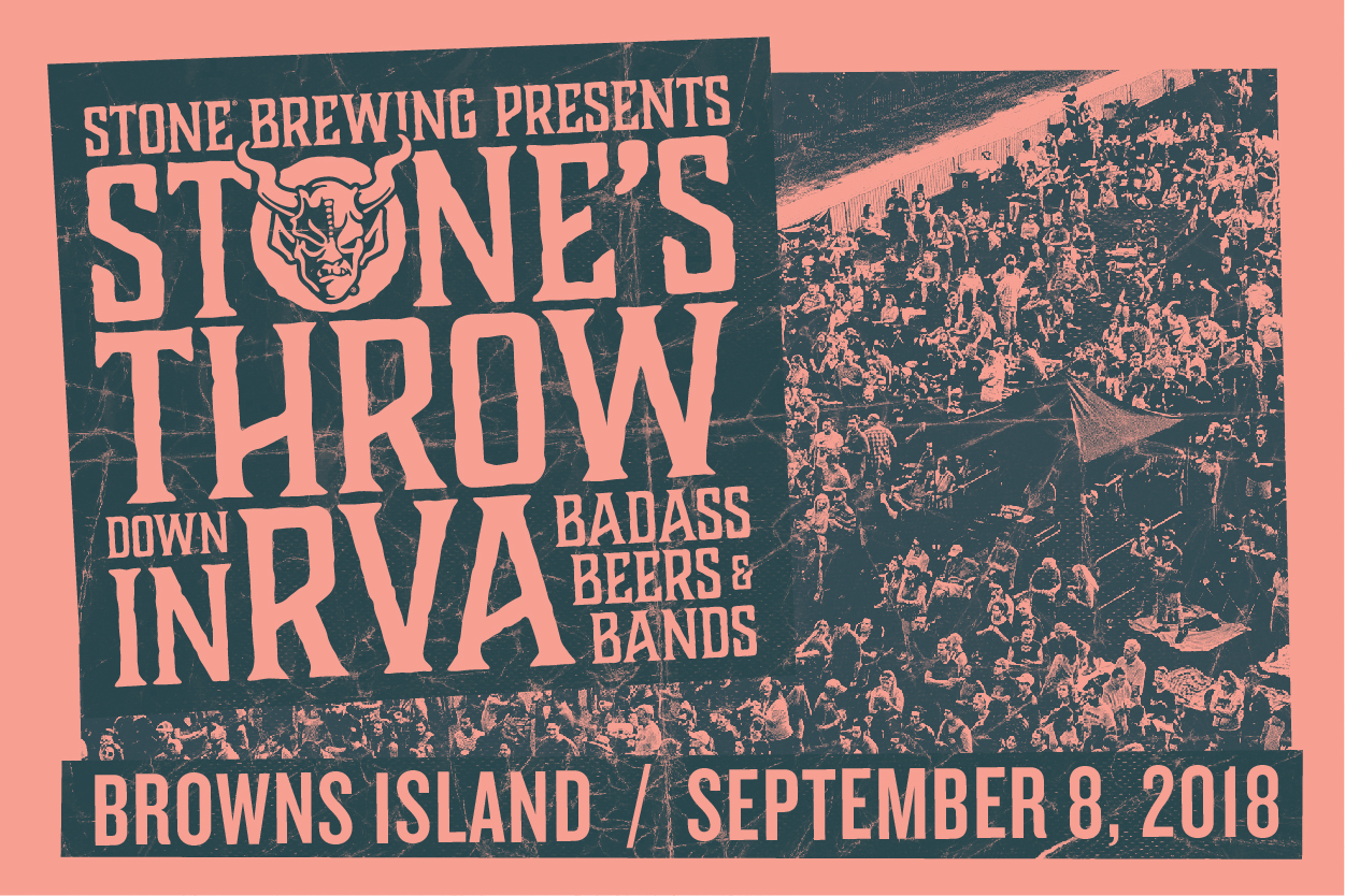 Stone's Throwdown in RVA - Saturday September 8, 2018