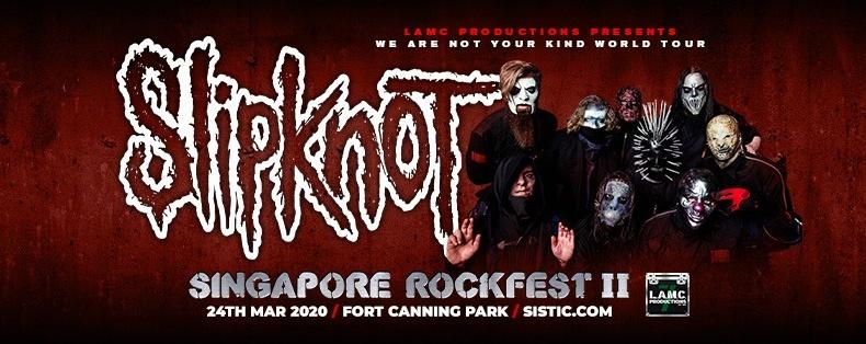 [POSTPONED] Singapore Rockfest II: Slipknot + Trivium