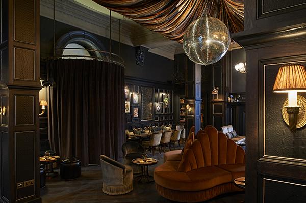 Fitz's bar at the Kimpton Fitzroy London