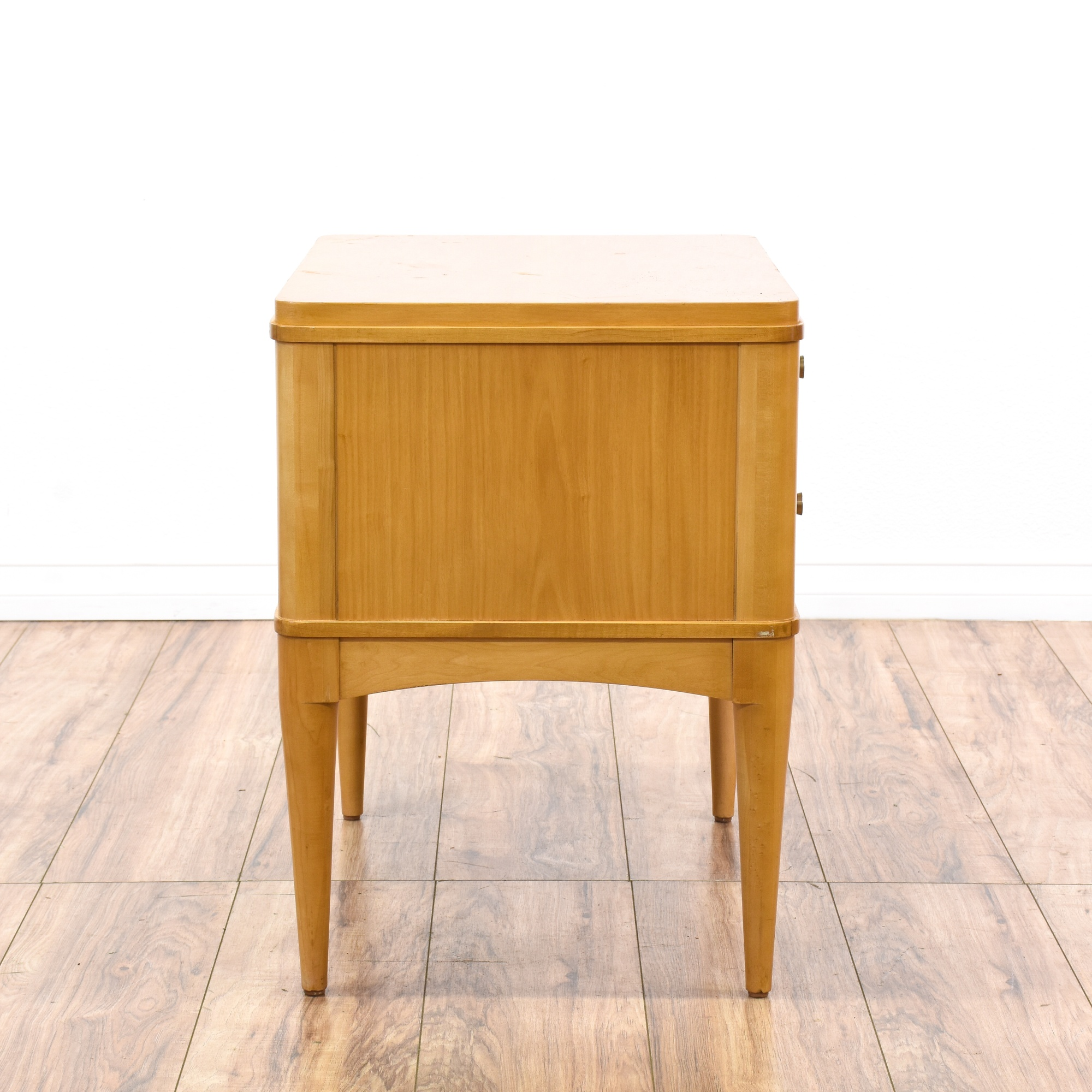 Ethan allen radius mid century modern nightstand for Mid century furniture san francisco