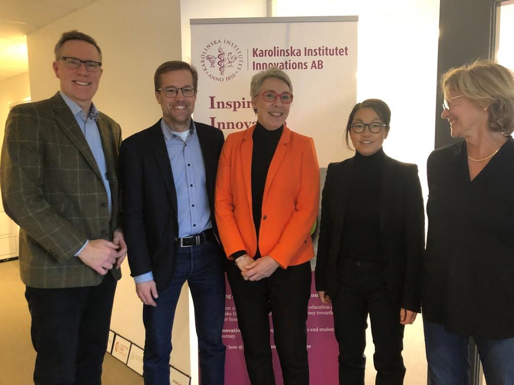 Visit from University of Copenhage