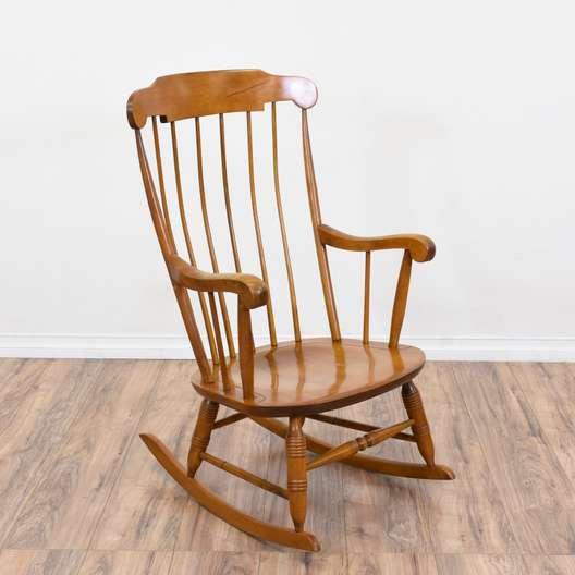Vintage Michael Thonet Bentwood Rocking Chair Loveseat Vintage Furniture San Diego Los Angeles