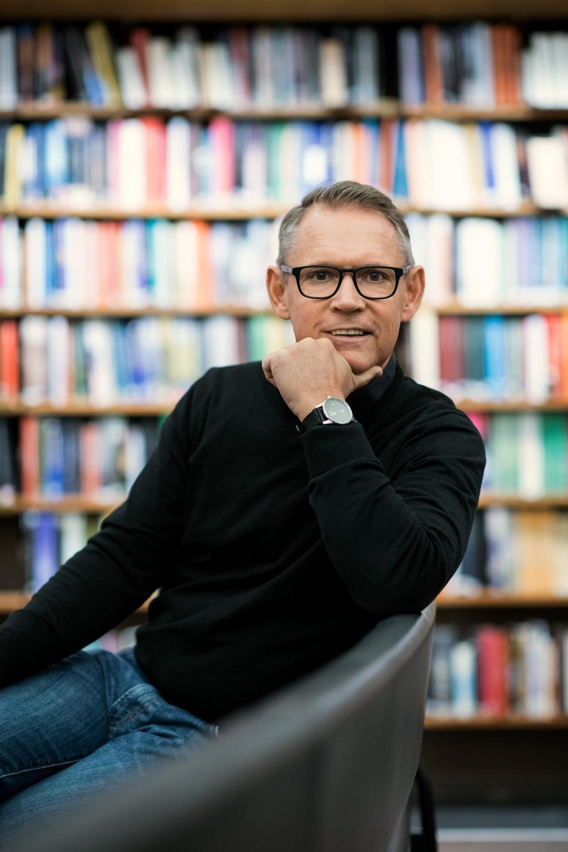Författarporträtt: Tommy Lundberg  Foto: Sören Vilks