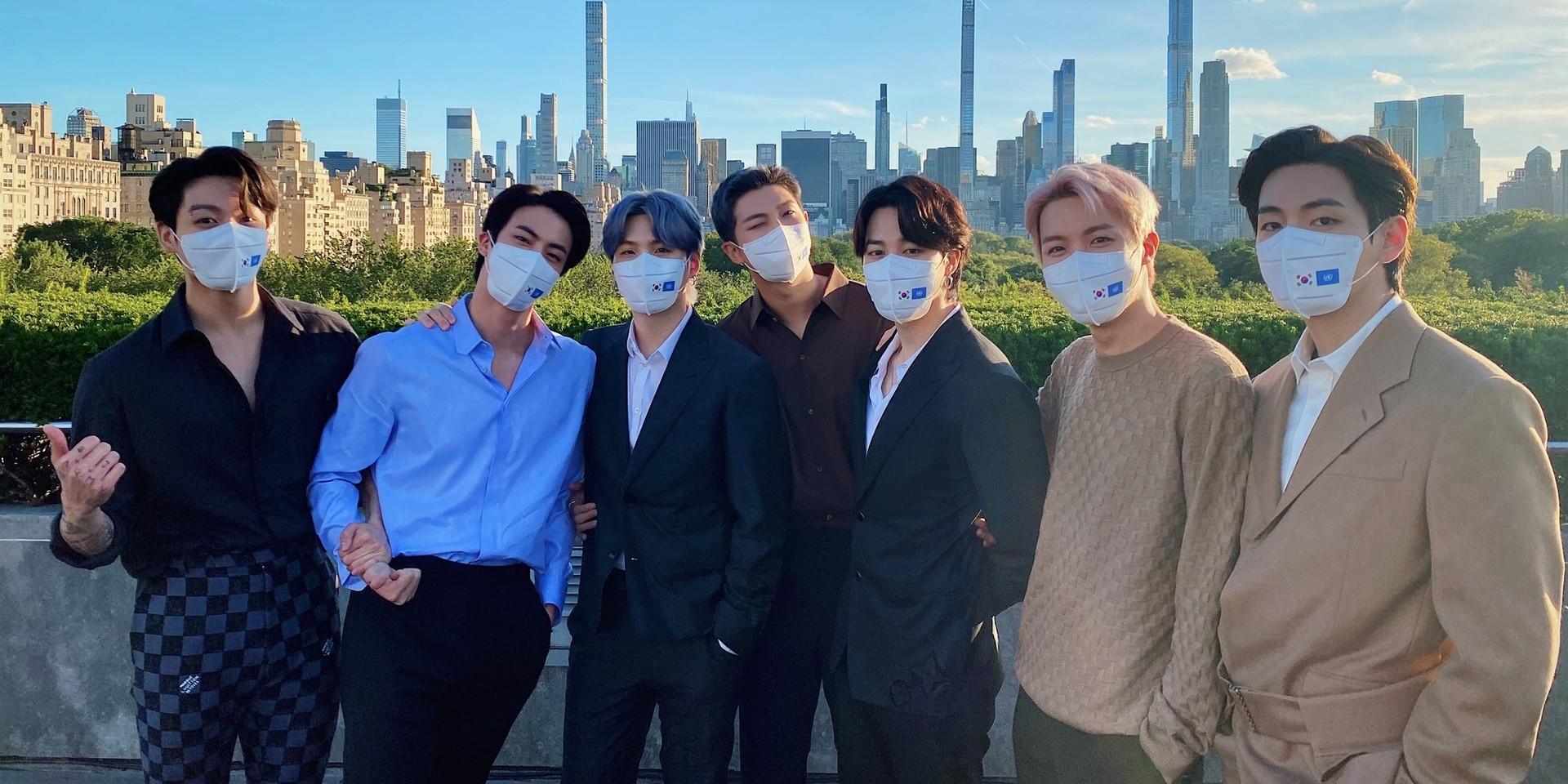 "BTS visit Art Of Korea gallery at The Met: ""It is very meaningful to see a Korean exhibit in New York."""