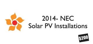 2014 NEC- Solar Inspector/Installer