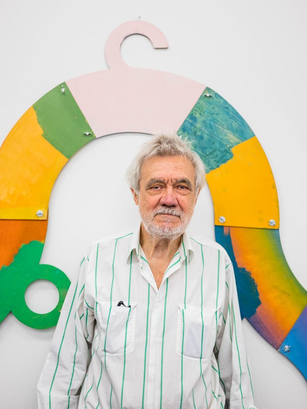 Enno Hallek, en av årets Gannevikstipendiater. Foto: Jean-Baptiste Béranger