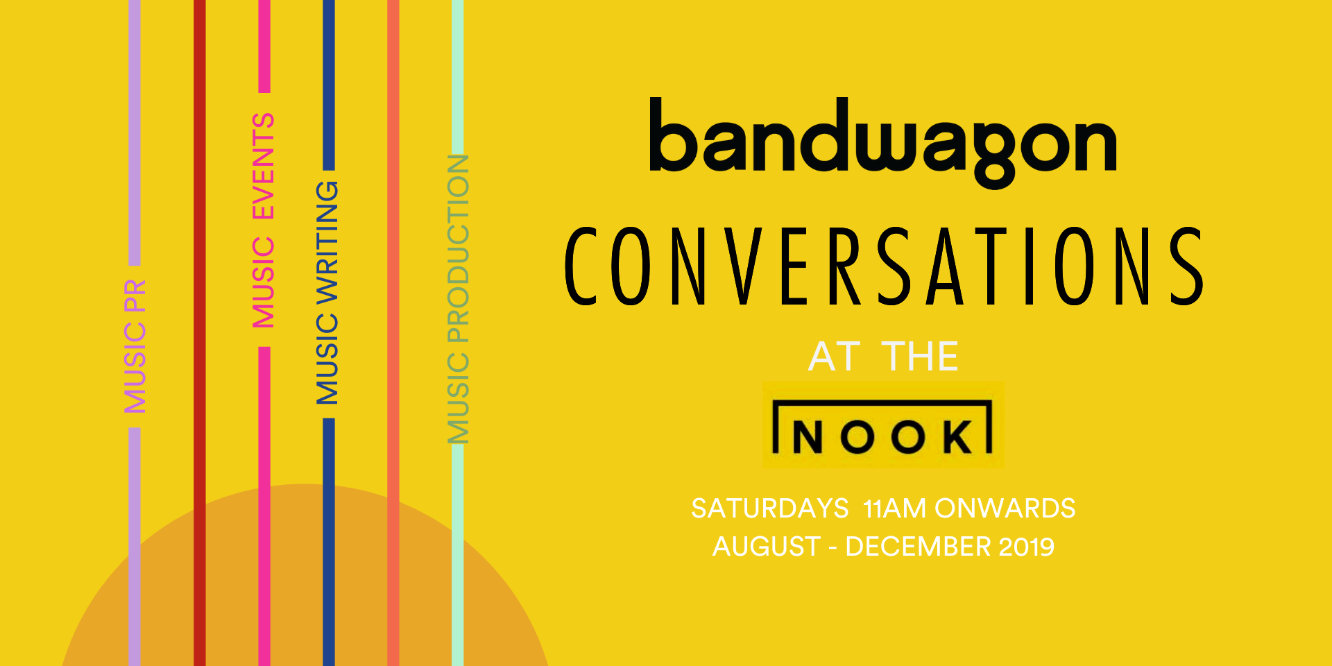 Let your stories be told at Bandwagon Conversations at the Nook