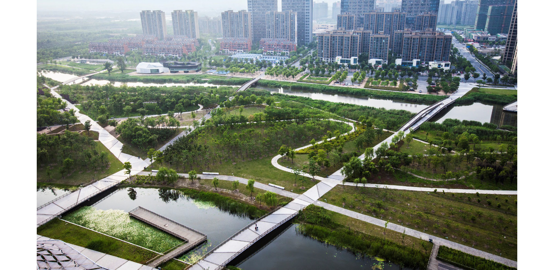 LANDSCAPE AS THE VALUE PROPOSITION FOR A NEW URBAN DISTRICT