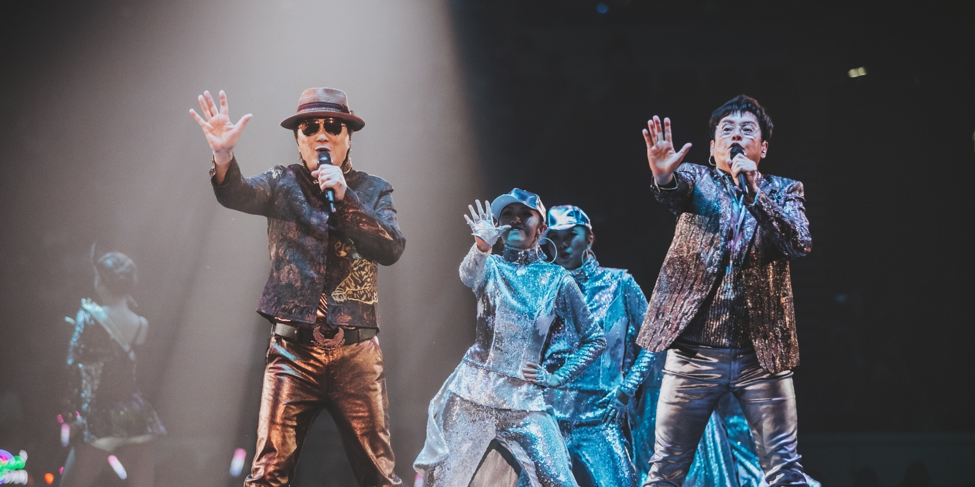 Sam Hui and Alan Tam signed off on an unforgettable night of Cantopop hits – gig report
