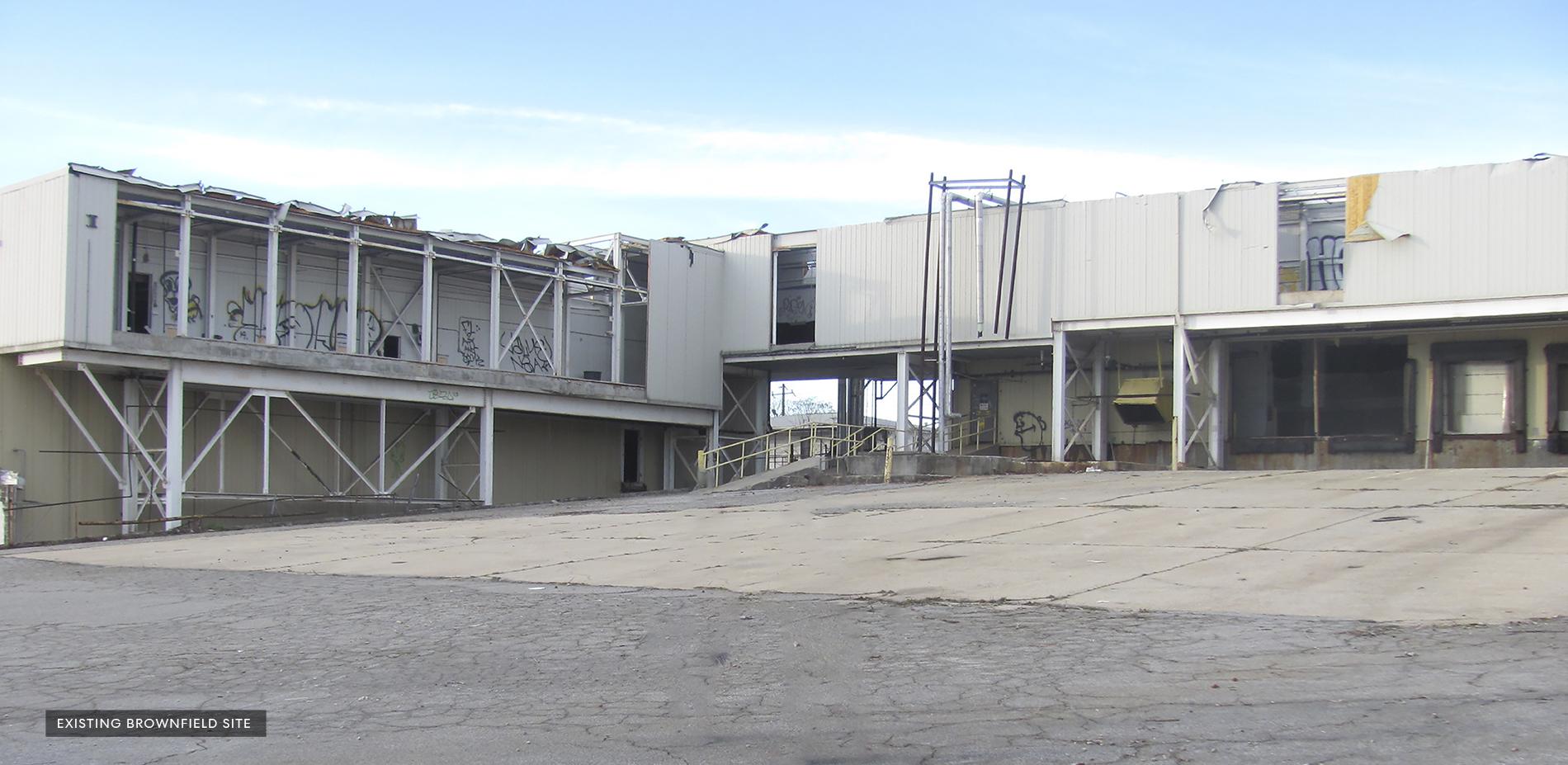 Existing Condition - Atlanta Dairies Loading Yard