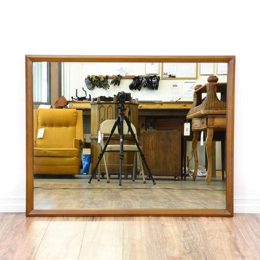 Mid Century Modern Style Wall Mirror