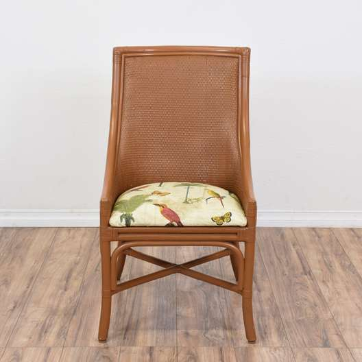 Woven Rattan Patio Chair