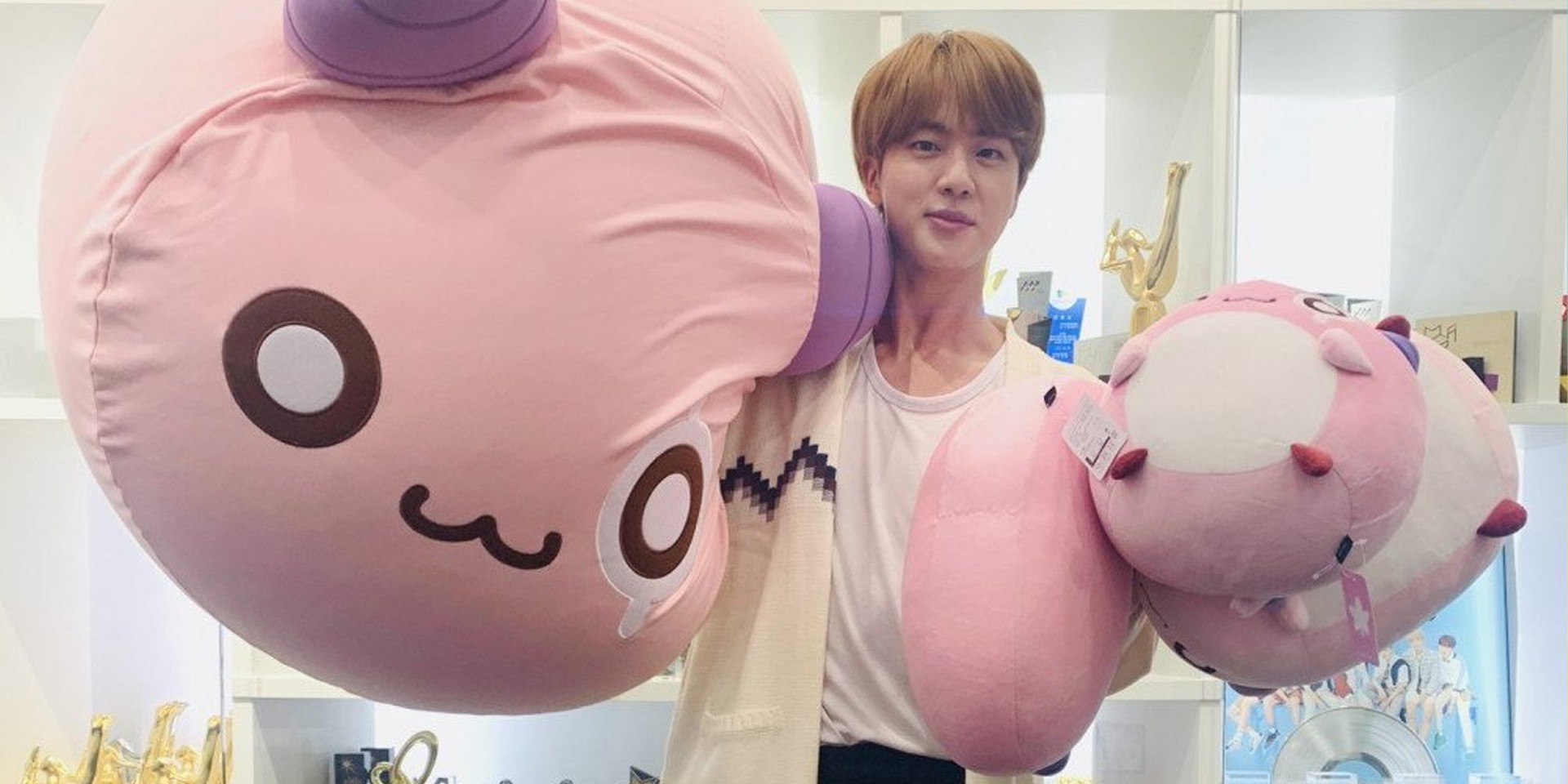 Get BTS' Jin to check out your artwork at MapleStory's 1st Golden Hands Awards