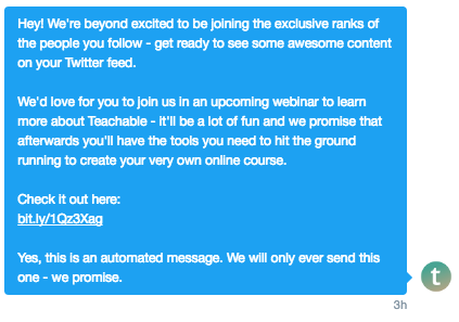 How to grow your Twitter and market your online course.
