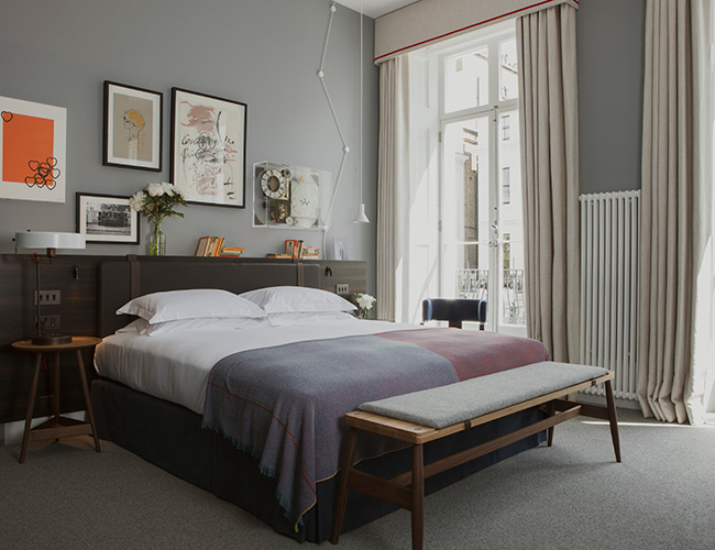 The Laslett master bedroom suite