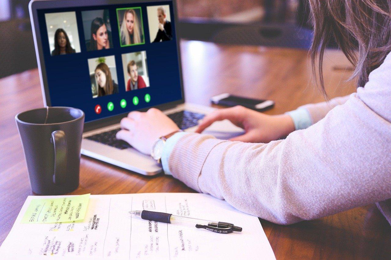 Modern-day Skype video call