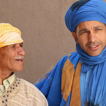 Traditional dress in Morocco