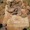 Tighedouine Cemetery, Grave With Tombstone (Tighedouine, Morocco, 2010)