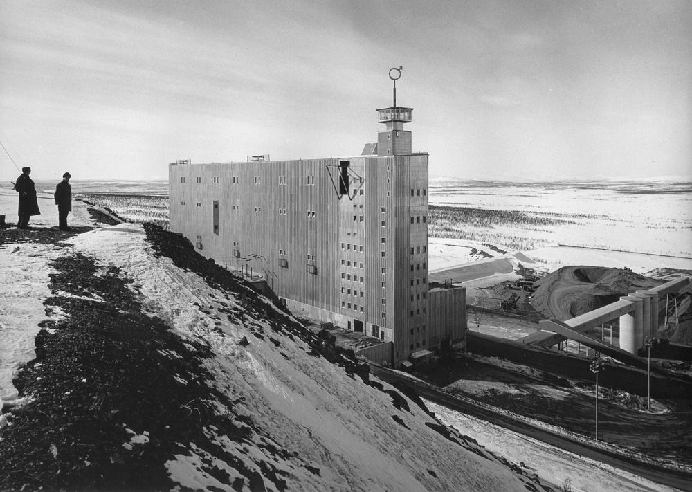 Hakon Ahlberg, LKAB:s Sovringsverk in Kiruna,1960, ArkDes Collections