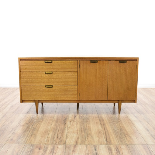 hooker mainline mid century modern credenza loveseat vintage furniture san diego los angeles. Black Bedroom Furniture Sets. Home Design Ideas