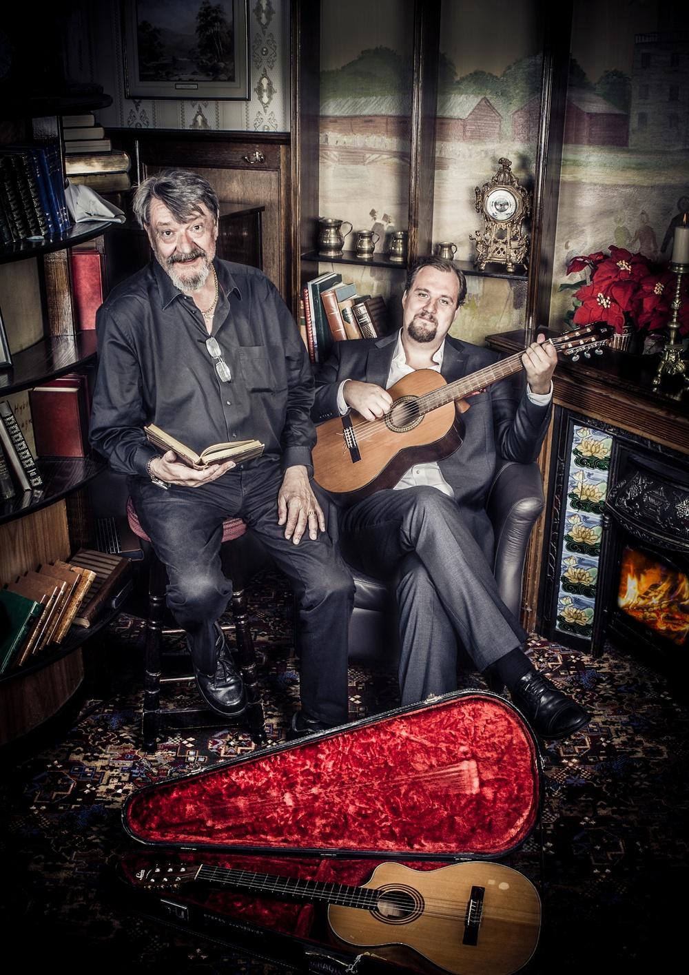 Kura skymning. En afton i väntan på julen. Stefan Ljungqvist och Anton Ljungqvist.