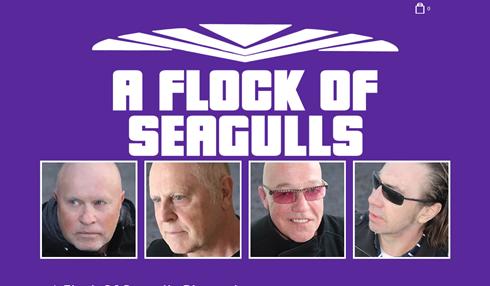 BT - A Flock of Seagulls - November 26, 2021, doors 6:30pm